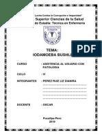 Ciencias de La Salud - Iodamoeba Bushli