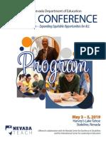 mega conference program 2019