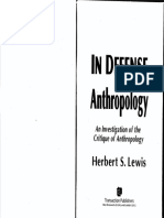 Lewis - In defense of Anthropology - 2014.pdf
