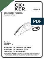 Av1500la Manual