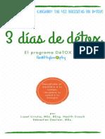 Tu Guía Détox de Tres Días Healthylosophy