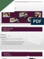 Recetario Bases Culinarias
