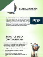 CONTAMINACIÓN DIAPOSITIVAS