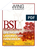 BSI Brewers Handbook 2019 Brewing Without the Blindfold