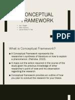 Group 7 Conceputal Framework