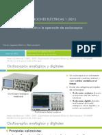 Osciloscopios Presentacion