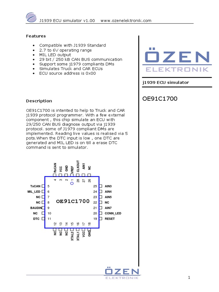 oe91c1700 pdf   Throttle   Bit