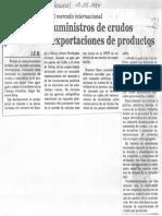 Camara Petrolera de Venezuela y El Mercado Internacional - El Nacional 13.08.1984