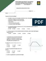 evaluacion fisica 10