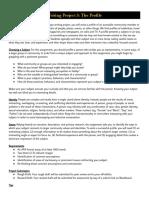 writing project 3  the profile essay  fa18