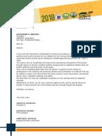 Brigada Eskwela Letter