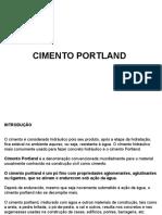 Aula 4 Concreto Hidraulico e Cimento Portland