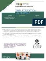 Reforma Educatica