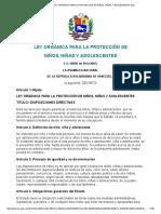 Microsoft Word - LEY ORGÁNICA PARA LA PROTECCIÓN DE NIÑOS, NIÑAS Y ADOLECENTES.docx.pdf