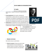 Modelos de Cambio de Organizacional (1)
