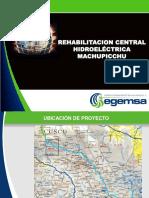 hidroeléctrica machupicchu