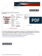 Nonimmigrant Visa - Confirmation Page