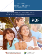 Bexar County Children and Youth Rapid Behavioral Health Assessment - FINAL