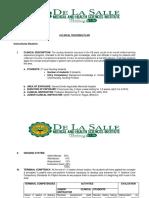Clinical Teaching Plan OB