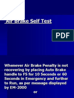 Air Brake Self Test