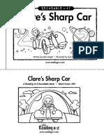 67 Clare's Sharp Car