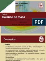 Balance de masa