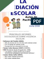 Mediación escolar Ávila 2008