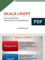 Skala Likert (Setyani & Aisyiyah)