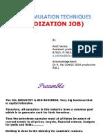Acidization Job Upes