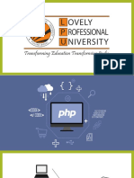 PHP Presentation