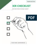 TRADER CHECKLIST.pdf