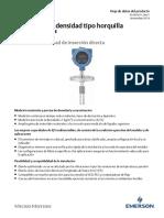 Hoja de Datos Del Producto Medidor de Densidad Tipo Horquilla Hoja de Datos Del Producto Fork Density Meter Data Sheet Spanish Micro Motion Es 64594