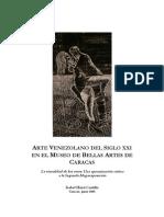 ARTE VENEZOLANO DEL SIGLO XXI EN EL MUSEO DE BELLAS ARTES DE CARACAS