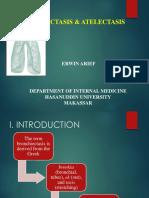 Bronchiectasis & Atelektasis