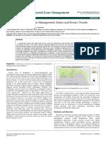 Bangladesh Coastal Zone Management Status and Future Trends