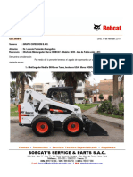 COT. 5816-17 - Oferta de Minicargador Bobcat S650 - Nuevo de Fábrica - GRUPO COFELCOM S.a.C.