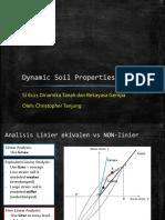 3. Dynamic Soil Properties