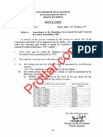 Rajasthan GPF Rules