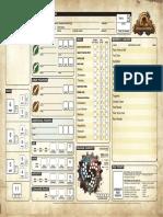 Priestoleer Character Sheet