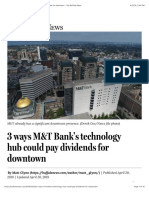3 Ways MandT Bank's Technology Hub Could Pay Dividends for Downtown