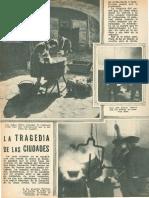 Reportaje de Prensa La Tragedia de Las Ciudades