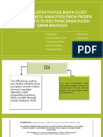 PPT ANALISIS EFEKTIVITAS BIAYA (COST EFFECTIVENESS ANALYSIS).pptx