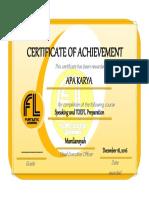 Certificate 4dAbd