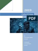 Report - Cyber Crime