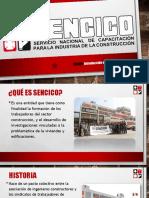 Diapositivas de Sencico y Capeco