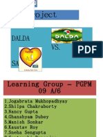 MM Presentation - Dalda vs. Saffola