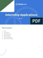 Data science intern interview