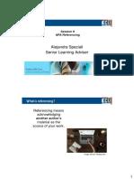 PG Presentation Referencing Session 6 (2 Slides)