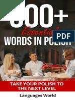 Learn Polish_ 300_ Essential Wo - Language World