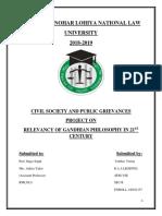 Civil Society and Public